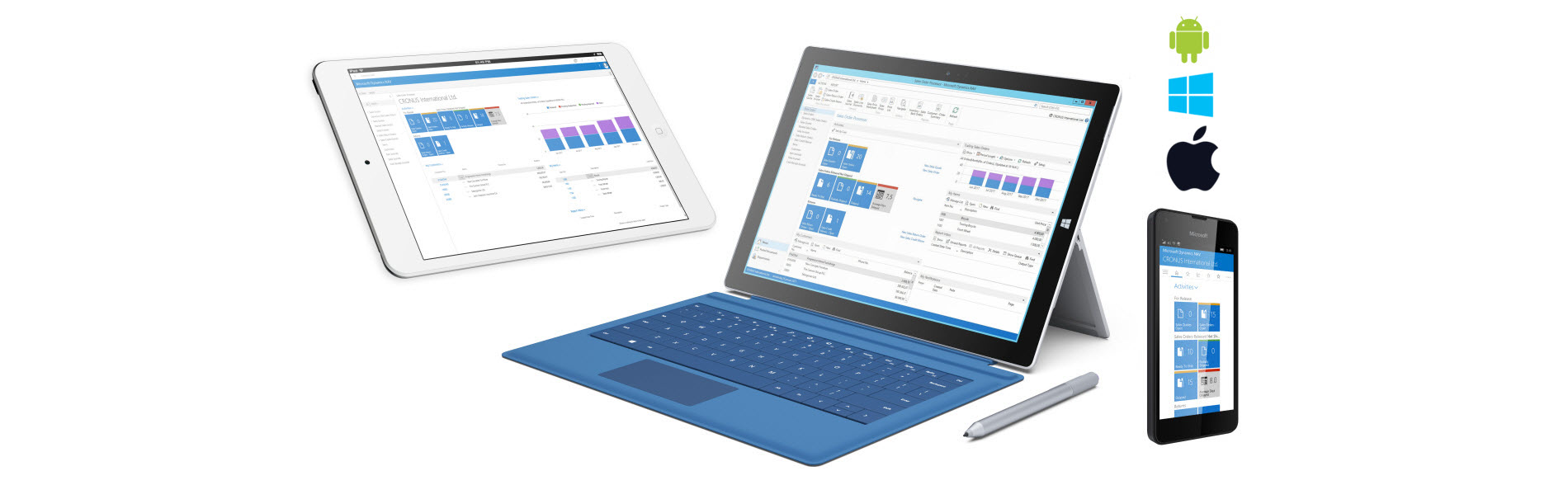 Dynamics NAV 2016 - Mobilite - Tablet - Smartphone