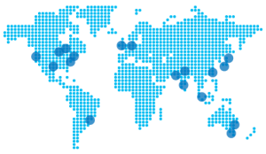 Microsoft Azure DataCenters map